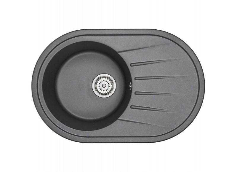 Кухонная мойка Graude QS 45.0 черный