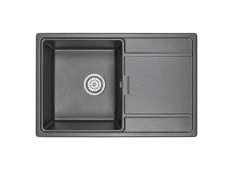 Кухонная мойка Graude QSS 45.2 черный