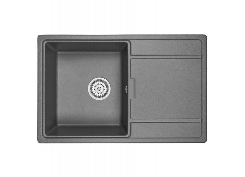 Кухонная мойка Graude QSS 45.2 графит