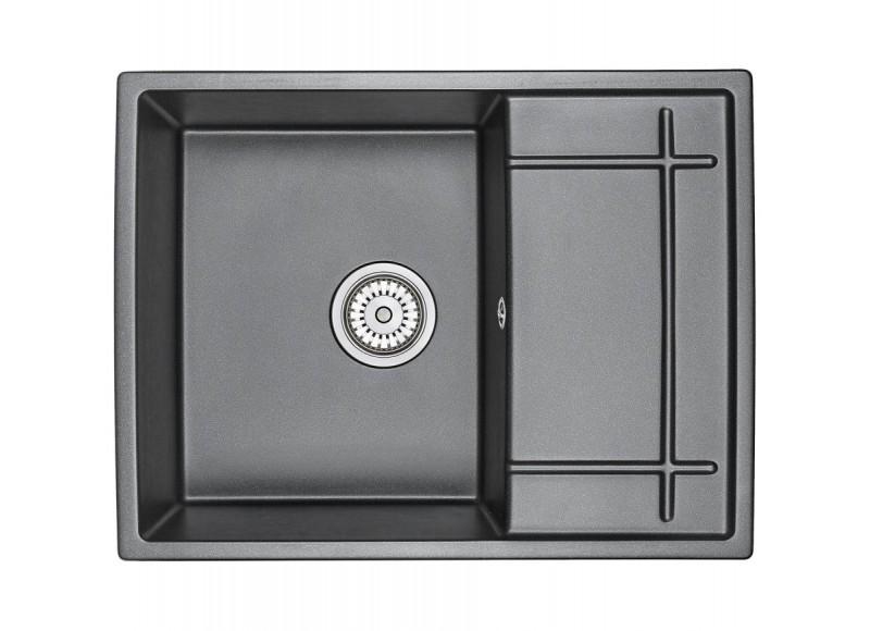 Кухонная мойка Graude QSS 50.1 обсидиан