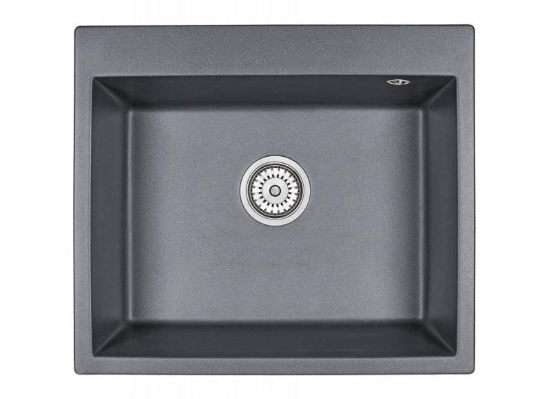Кухонная мойка Graude QSS 60.0 обсидиан